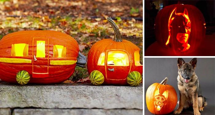 Halloween-Kürbis schnitzen: 13 coole Ideen