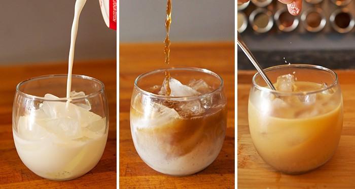 Leckerer Eiskaffee, der euch an heißen Sommertagen erfrischen wird