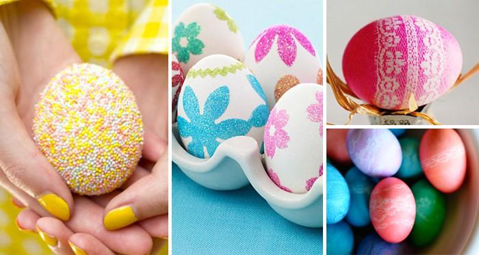 Ostereier färben und verzieren: die 50 besten Ideen