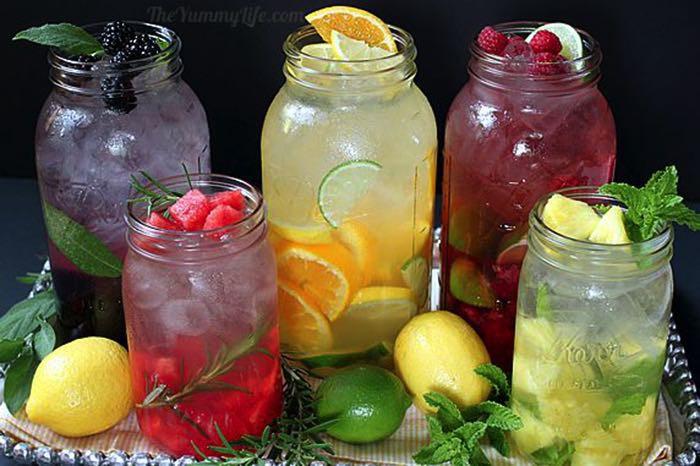 Wasser mit Geschmack: die perfekte eiskalte Erfrischung