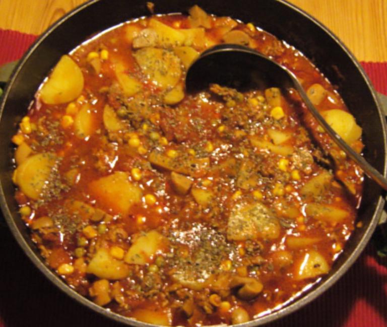 Kartoffel-Hackfleisch-Eintopf