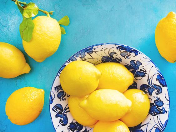 Zitrone – die gelbe Vitaminbombe