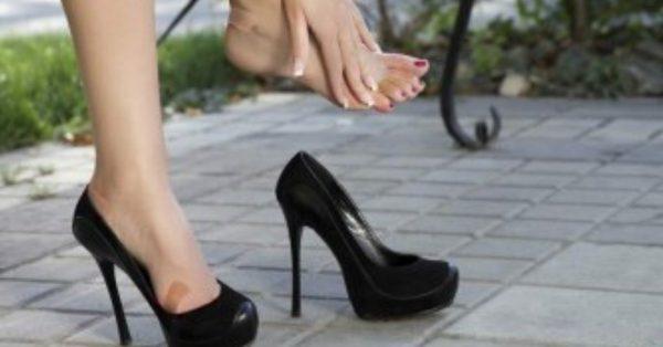 Der Trick, um zu kleine Schuhe zu machen