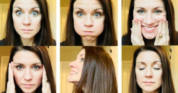 Gesichtsyoga: 5 einfache Übungen gegen Mimikfalten